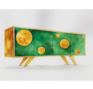 ANNA MURAVINA WALLPAPER -  - Sideboard