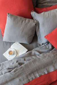 Couleur Chanvre - couleur terre de feu - Duvet Cover