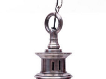 Antic Line Creations - suspension vintage silver - Hanging Lamp