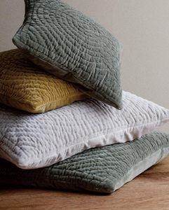 Broste Copenhagen - velvet - Square Cushion