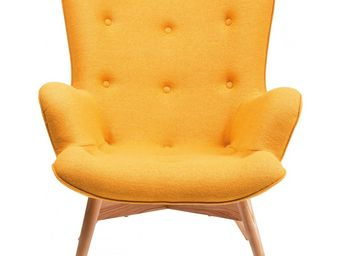 Kare Design - fauteuil design angels wings jaune - Armchair