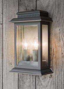 GARDEN TRADING - belvedere light in charcoal - Outdoor Wall Lamp