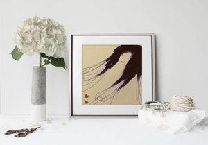 la Magie dans l'Image - print art de loin pillow - Decorative Painting