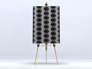 la Magie dans l'Image - toile african noir - Digital Wall Coverings