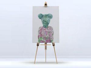 la Magie dans l'Image - toile ma petite souris - Digital Wall Coverings