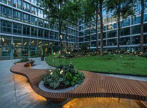 Alexis Tricoire - Tricoire Design - botanic twist--.; - Town Bench