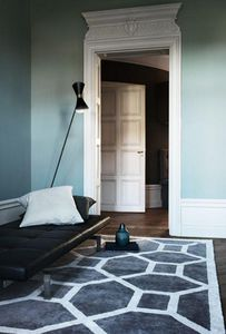 LAYERED - elephant gray rug - Modern Rug