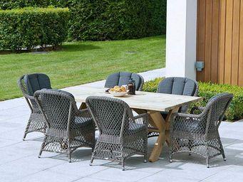 Alexander Rose - mixed materials - Garden Armchair