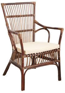 Aubry-Gaspard - fauteuil en rotin - Armchair