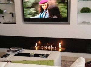 A-FIRE -  - Flueless Burner Fireplace