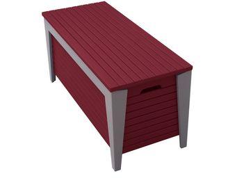 City Green - coffre banc de jardin en acacia portofino - 90 x 3 - Garden Bench With Storage