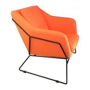 Mathi Design - fauteuil narvik orange - Armchair