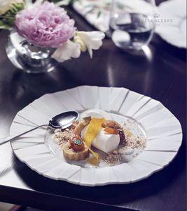 Vista Alegre - matrix white - Dinner Plate
