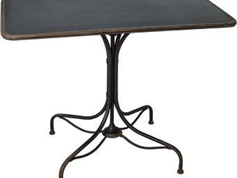 Antic Line Creations - table bistrot en métal vieilli - Bistro Table