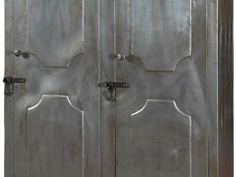 Antic Line Creations - vestiaire d'atelier 2 portes en fer - Cloakroom