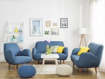 BELIANI - ensemble de salon - 3 Seater Sofa