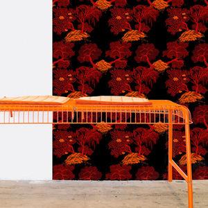 ISIDORE LEROY - jardin d'asie - Wallpaper