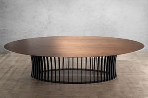 MBH INTERIOR - aeolion ovale 300 - Oval Dining Table