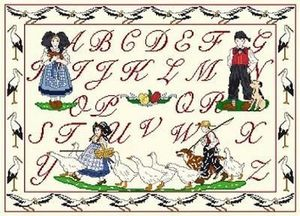 Anagram Diffusion -  - Embroidery Kit