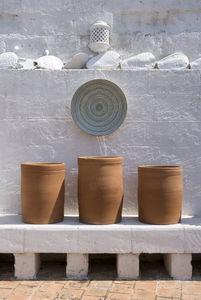 ENZA FASANO -  - Garden Pot