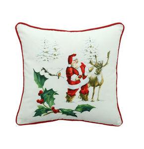 Bouchara - paysage de noël - Christmas Cushion