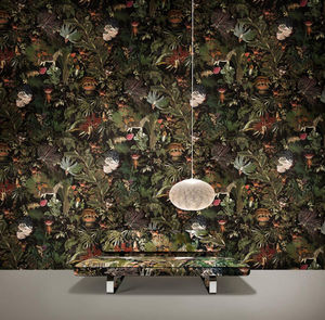 MOOOI Wallcovering - menagerie of extinct animals - Wallpaper