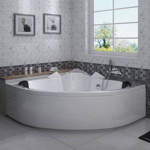 DISTRIBAIN - baignoire d'angle 1408287 - Corner Bath