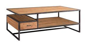 MEUBLE HOUSE -  - Rectangular Coffee Table