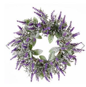 Top Art International - lavande - Flower Wreath