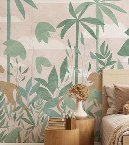ISIDORE LEROY - paradis des tigres jour - Children's Wallpaper