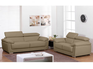 WHITE LABEL - canapé mishka - 3 Seater Sofa