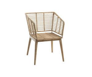 ROTIN ET OSIER - nany - Garden Armchair