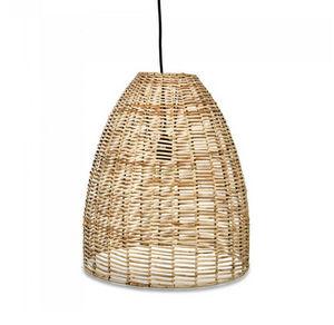 ROTIN ET OSIER - noko conical - Hanging Lamp
