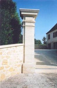 Occitanie Pierres - pierre naturelle d'auberoche - Fence Pillar