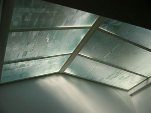 Florent Boissonnet-Glasswork - vitrail - Glass Roof