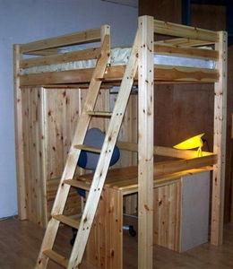 Mezzaline - lit mezzanine sivane - Mezzanine Floor