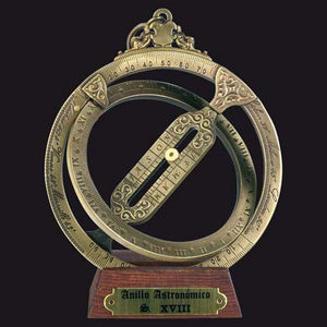 HEMISFERIUM - anneau astronomique - Outdoor Clock