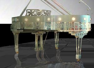 Gary Pons France - gary pons sy186 plexart - Small Grand Piano