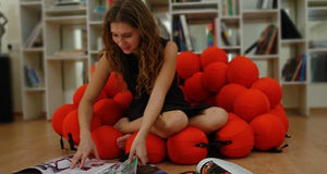 ANIMI CAUSA -  - Floor Cushion