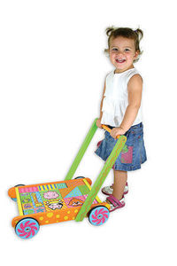 Andreu-Toys - correpasillos multicolor - Toy Trolley