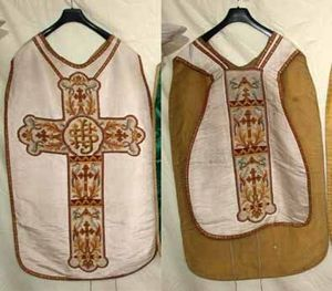 PNEC BERTIN -  - Liturgical Chasuble
