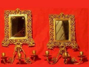L'Atelier de la dorure - miroir - Wall Lamp