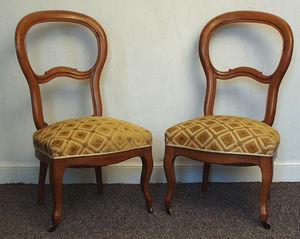 Antiquités Eric de Brégeot -  - Fireside Chair