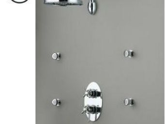 CPS DISTRIBUTION - rétro - Concealed Shower Mixer