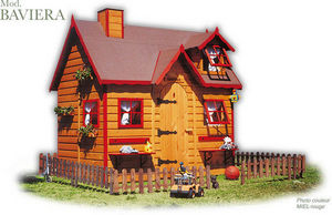 CABANES GREEN HOUSE - baviera - Children's Garden Play House