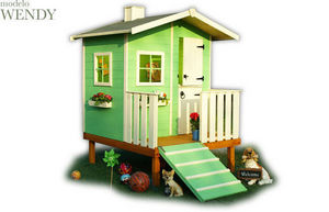 CABANES GREEN HOUSE - wendy - Children's Garden Play House