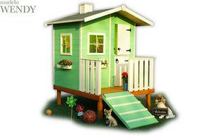CABANES GREEN HOUSE - wendy - Children's Garden Play House
