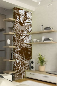 DECLIK - structure - Single Strip Of Wallpaper