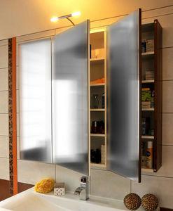 Atlantic Bain - 3 portes - Bathroom Wall Cabinet
