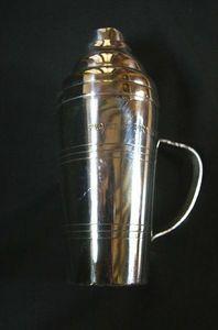Naval Heritage - Vincent Roc Roussey - shaker paquebot france - Cocktail Shaker